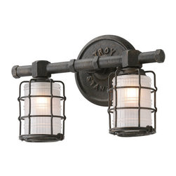 Troy Lighting - Troy Lighting B3842 Mercantile 2lt Wall  Bath - Troy Lighting B3842 Mercantile 2lt Wall  Bath