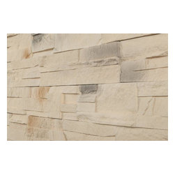 Black Bear - Black Bear Premium Manufactured Stone - Classic Ledge Stone, Beige/Tan, 11.5 Squ - With the Black Bear Manufactured Stone Veneer- Classic Ledge Stone Collection, you can customize the look of your home while adding structural strength. Designed to look like natural stone, the earth-tone hues available in this collection are expertly blended for a unique appearance. Since this manufactured stone veneer is crafted to endure as long as the structure it's built upon lasts, it offers sturdy charm for years to come.  No Sweat Style  Suitable for indoor and outdoor installations, the Classic Ledge Stone Collection will add an attractive masonry appearance to exteriors, fireplaces, and even kitchen accent walls. Manufactured from a mixture of Portland cement and iron oxide pigments set in convincing molds, this product is significantly lighter than real stone. Its panelized format makes it even easier to install because it allows you to set larger units into mortar instead of individual stones.  After installation, little maintenance is required on your part to keep this collection's stain resistant surface looking new. To clean, simply hose it down a couple times a year to keep clear of dirt and debris. For tougher stains, use a non-acidic manufactured stone cleaner.  High Quality Manufactured Stone Veneer at the Best Price  Discover the best in manufactured stone veneer with this collection from Black Bear. At BuildDirect, we're determined to provide you with industry leading, top quality home improvement materials at the lowest prices. Working directly with the industry's most innovative and reliable vendors, and housing their products directly in our own warehouses, we're able to cut out the expensive middlemen. This allows us to pass incredible savings and dependable manufacturing directly to you. [11.5 sq ft/box] - South West Spring / 11.5 sq t Flat - If dimensions = 0, value = Random
