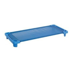 ECR4KIDS Streamline Single Cot - Blue - The ECR4KIDS Streamline Single Cot – Blue is as safe and comfy as afternoon snoozes get, thanks to its sturdy construction and kid-safe bed of gapless, stretch-resistant fabric. This colorful cot features secure loop and lock closures at each end, and a strong and durable combination of plastic ends and powder-coated steel poles. Built to last, this cot is stackable with others of the same design, and is backed by a limited 10-year warranty from ECR4KIDS.About Early Childhood ResourcesEarly Childhood Resources is a wholesale manufacturer of early childhood and educational products. It is committed to developing and distributing only the highest-quality products, ensuring that these products represent the maximum value in the marketplace. Combining its responsibility to the community and its desire to be environmentally conscious, Early Childhood Resources has eliminated almost all of its cardboard waste by implementing commercial Cardboard Shredding equipment in its facilities. You can be assured of maximum value with Early Childhood Resources.