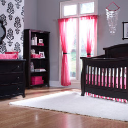 Renaissance Panel Back Crib - •This Renaissance crib features a Solid Back Panel, which will later convert into a beautiful headboard for a full-size bed