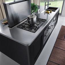 Modern Kitchen Islands And Kitchen Carts by EVAA Home Design Center