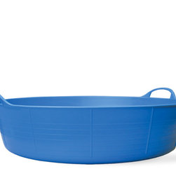 Large Shallow Tubtrug - On hot days you need to keep cool, whether you're in France or in your back garden. Fill this tub with ice cold water and cool off.