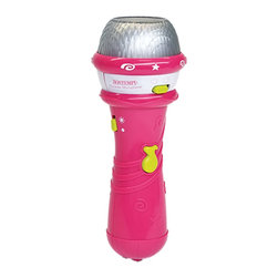 The Original Toy Company - The Original Toy Company Kids Children Play Karaoke Microphone - Demo songs. Sound Effects. Light Effects. Demo Selector. Power supply- 2AAA batteries (not included) Retail Window box. Ages: 3 years plus. Weight: 2 lbs. Gender: Both.