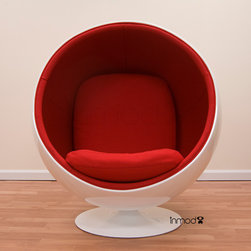 Eero Aarnio Ball Chair - The Eero Aarnio Ball Chair is a high quality reproduction of the original created by Eero Aarnio in 1960.
