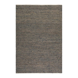 Uttermost - Uttermost Tobais 5 X 8 Rescued Leather & Hemp Rug - 5 X 8 Rescued Leather & Hemp Rug belongs to Tobais Collection by Uttermost Hand Woven Rescued Italian Leather And Natural Hemp. Rug (1)
