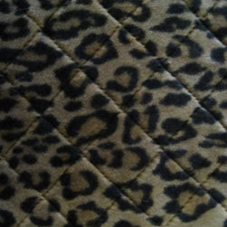 Tissavel - Tissavel Leopard Diamond Stitch Woven Faux Fur Fabric, 1 Yard - Tissavel is known as the world's finest manufacturer of high fashion faux fur. Tissavel Faux Fur is the top quality (and most expensive) faux fur. It is made in France and is used in the most expensive of faux fur products. Especially in the fashion industry. It is incredibly realistic. The quality, density, softness, silkiness and incredible sheen means it is so close to the feel, look and characteristics of the real thing that it is often mistaken for real fur. Animal fur has different tones and highlights and is often a different color at the base (undercoat) and often tipped in one or more colors and shades. Tissavel furs capture this natural look perfectly, which is why they are used by fashion designers, as they look and feel just like real fur. They really have the WOW factor.