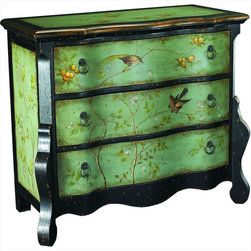 "Hammary - Hidden Treasures Accent Chest - ""Hammary's Hidden Treasures collection is a fine assortment of unique accent pieces inspired by some of the greatest designs the world over. Each selection is rich in Old World icons and traditions."