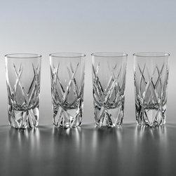 Nicholas Vodka Glasses, Set of 4 (beautifully gift boxed) - www.ImperialCourt.com