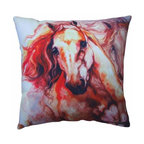 WL - Thunder Theme Couch Sofa Pillow with Two Galloping Horses Design - This gorgeous Thunder Theme Couch Sofa Pillow with Two Galloping Horses Design has the finest details and highest quality you will find anywhere! Thunder Theme Couch Sofa Pillow with Two Galloping Horses Design is truly remarkable.