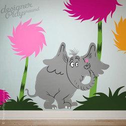 Dr Seuss wall decal - www.designerplayground.com