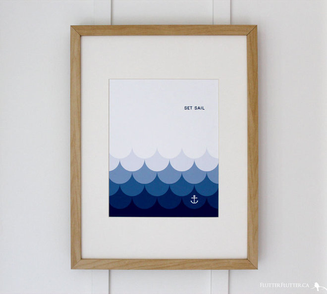 Beach Style Prints And Posters by Etsy