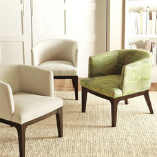 Eclectic Armchairs by West Elm