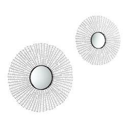 Cyan Design - Cyan Design 30 Inch Round Roxie Mirror Number 1 - 30 Inch Round Roxie Mirror Number 1