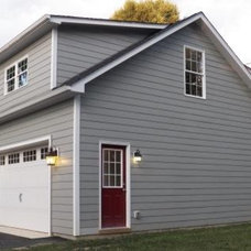 Traditional Garage And Shed by Virginia Tradition Builders LLC