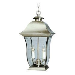 Trans Globe - Trans Globe 4975 BN 2-Light Hanging Lantern - Trans Globe 4975 BN 2-Light Hanging Lantern