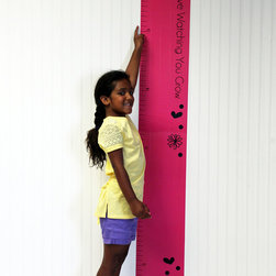 Sassy Shaylee Growth Chart Wall Decal -