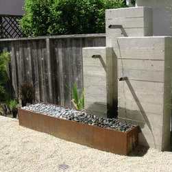 Modern Outdoor Fountains -