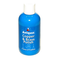 Antiquax - Antiquax Copper and Brass Polish, Transparent 200ml - Easy to use