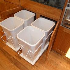 Modern Trash Cans by Wausau Homes Bemidji