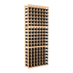 Wine Racks America - 7 Column Standard Wine Cellar Kit in Pine, (Unstained) - Don't let that spectacular case get away! This easy-to-assemble racking system is made of pine, gentle on bottles and pleasing to behold. Here's to your growing collection!