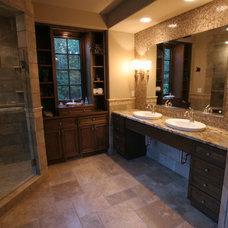 Bathroom by Payne & Payne Builders