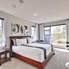 Contemporary Bedroom by Kanvi Homes