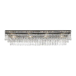 Crystorama Lighting - Crystorama Lighting 5267-EB-CL-MWP Mercer Transitional Bathroom Light - Crystorama Lighting 5267-EB-CL-MWP Mercer Transitional Bathroom Light In English Bronze With Hand Cut Crystal