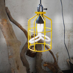 Edison Bulb With Iron Frame Pendant lighting