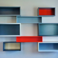 Contemporary Display And Wall Shelves  by Think Fabricate