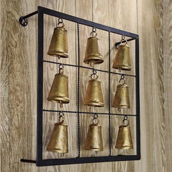 Framed Cast Iron Meditation Bells - Bells are a fairy favorite. These meditation bells promise serenity — sounds good to the non-magical me.