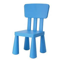 Mammut Children's Chair | IKEA - These fun little plastic chairs are not only great for the home, but also for churches, daycares and other kid-friendly places. They're inexpensive and easy to replace in high-use areas.