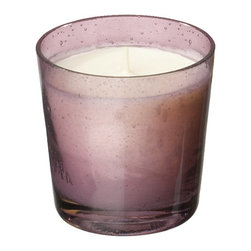 Everybody's Ayurveda - Tridosha Filled Votive Ayurvedic Candle - Purple - This fragrance promotes and maintains dosha balancing. 100% soy wax Ayurvedic Candle in Glass. Made in the U.S.A. Package Includes: Ayurvedic Candle Only. Dimensions: Width: 2 inch. Height: 2.75 inch.