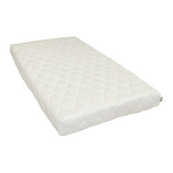 """Natura - Natura Replacement Mattress Cover - Crib - 420279 - Shop for Crib Pads from Hayneedle.com! About Natura Father and son team Harry and Ralph Rossdeutscher founded Natura out of a desire to solve the mystery behind having a healthier more abundant lifestyle. Research led to the discovery of just how much a quality night's sleep contributes to a productive happy daily life. Natura's founders searched for a solution to help people sleep better and live better. They set out to create a total sleep solution with benefits that were more than just """"skin deep"""". Researching how the body moves and body activity during sleep they created a bed that was designed to work with the body not against it. From there they grew a line of luxurious healthy natural bedding as well as numerous innovative sleep enhancing products to help people wake to a better day."""