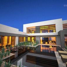 Contemporary Exterior by Stuart Arc