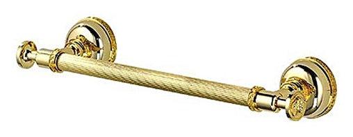 "Versace - Versace Classic Gold Towel Holder Bar 40Cm 15.75"" - Die-cast Bronze"