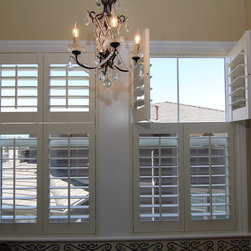Back Country Highlands Ranch double hung shutter - Colorado Shade and Shutter
