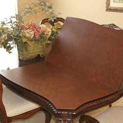 Dining Table Pad - Dining room table pads to protect your dining room table from getting ruined. Preserve your dining room table with a table top protector.