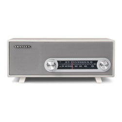 Crosley - Ranchero Radio- White - Dimensions:  13 x 6 x 5.5 inches