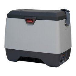 Engel - Digital EMS DC Fridge & Freezer in Gray - Compact and portable freezing unit. Quieter and runs longer. Developed specifically for saline storage for therapeutic hypothermic induction. Features our new F series compressor. Can store up to 6 saline IV solutions and a small drug bag. Automatically heats in winter and cools in summer. 2 Year limited warranty. Inside dimensions: 13.75 in. L x 7.5 in. W x 7.5 in. H. Outside dimensions: 17.5 in. L x 11.25 in. W x 14.5 in. H. Weight: 24.5 lbs.ENGEL USA is proud to offer Emergency First Responders a new, compact constant temperature model which has been developed specifically for saline storage for therapeutic hypothermic induction. Unlike thermoelectric powered coolers, Engel will hold a steady temperature regardless of outside environmental conditions. The ENGEL EMS model features our new F series compressor, which is quieter and runs longer. It can store up to 6 saline IV solutions and a small drug bag. Featuring a temperature range of 5 to 90 degrees Fahrenheit, it automatically heats in winter, and cools in summer, to maintain the set temperature. When lives are on the line there should be no doubt whether your equipment is operating properly — that's why ENGEL, now 45 years old, proudly stands by its products and offers a 2 year warranty.
