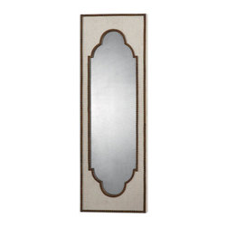 Uttermost - Uttermost 13838 Samir Wall Mirror - Uttermost's Mirrors Combine Premium Quality Materials With Unique High-style Design.With The Advanced Product Engineering And Packaging Reinforcement, Uttermost Maintains Some Of The Lowest Damage Rates In The Industry. Each Product Is Designed, Manufactured And Packaged With Shipping In Mind.Specifications: