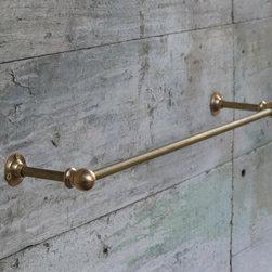 Brass Towel Bar -