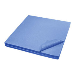 The Felt Store - Felt Memo Board - 12 x 12 Inch, 15 Pieces, Sky Blue - Great for organizing your workspace and presentations in the office or for displaying personal items and projects at home our Felt Memo Boards are a modern alternative to the bulletin board. Designed to let you create custom wall displays, each pack comes with 15, 12 inch x 12 inch (305mm x 305mm) squares which can fit together to form a surface up to 3 feet x 5 feet (914mm x 1524mm). Use all of one color or switch it up to include a wall of several different colors! Eliminate the need for tapes, glues, magnets and pins with a bright and colorful memo board that will keep your favorite photos and notes on the wall! A great tool to help with organizing photos, cards and artwork or planning for school, schedules and notes. Stick to your fridge, cupboards, walls and more! This product can be stuck to smooth or rough surfaces and can be removed and reused. Available in different sizes and colors. *Please note that this product may remove paint upon removal.*