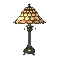 Dale Tiffany - New Dale Tiffany Lamp Bronze Metal Pull - Product Details