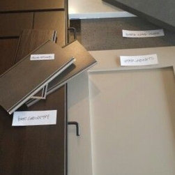 In Progress/ Projects - Kitchen Remodel: Cabinet, Counter, Stain, Back Splash selections