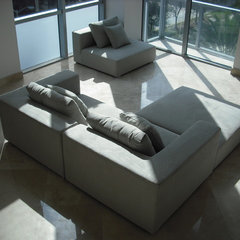 contemporary living room by Loft Sofa