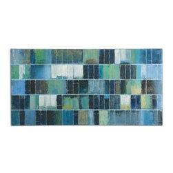 Uttermost - Uttermost Glass Tiles Modern Art - 34300 - Uttermost's art combines premium quality materials with unique high-style design.