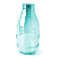 18KARAT - Aqua Lustre Vase - These classically shaped vases are adorned with a subtle lustre sheen in elegant jewel tones.
