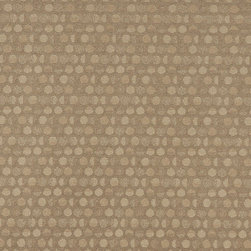 Beige Geometric Circles Durable Upholstery Fabric By The Yard - P7635 is great for residential, commercial, automotive and hospitality applications. This contract grade fabric is Teflon coated for superior stain resistance, and is very easy to clean and maintain. This material is perfect for restaurants, offices, residential uses, and automotive upholstery.