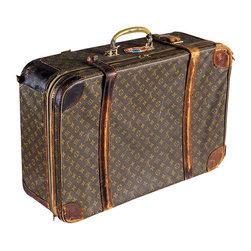 Vintage Louis Vuitton Suitcase - $3,500 Est. Retail - $999 on Chairish.com -