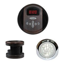 SteamSpa - SteamSpa Indulgence Control Kit in Oil Rubbed Bronze - DESCRIPTION